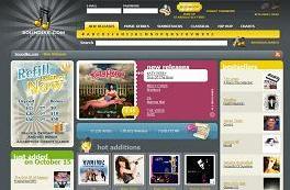 Soundike homepage